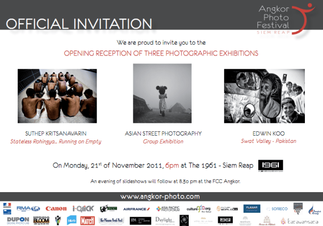 Upcoming Angkor Photo Festival Exhibitions in Cambodia