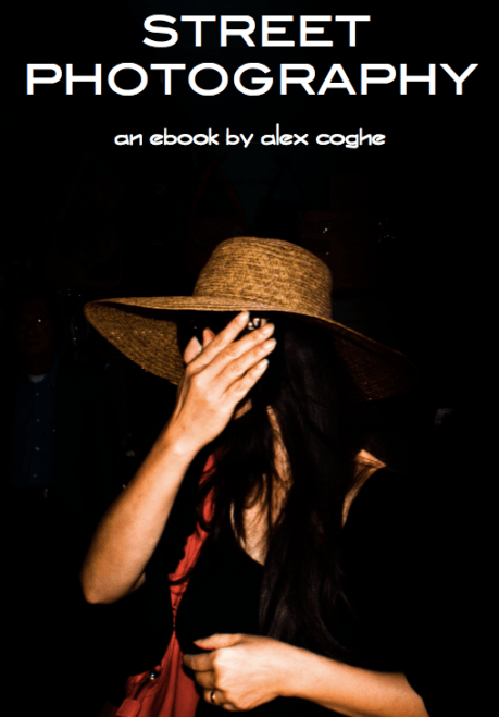 Announcing Alex Coghe's FREE E-book on Street Photography