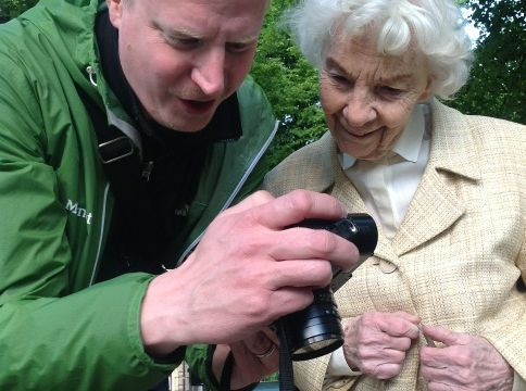 The Most Touching Story I Heard in a Long Time: Mattias Leppaniemi Taking a Photograph of a 88-year Old Swedish Woman