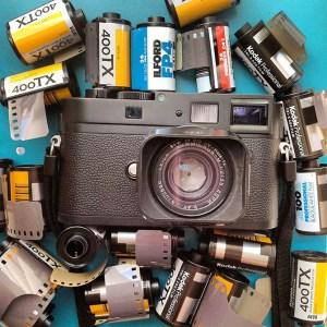 Leica M Monochrom with Film