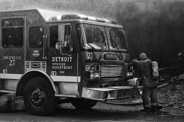 """""""Walkers With the Dawn"""": The Epidemic of Residential Fires in the Metro Detroit Area by Brian Day"""