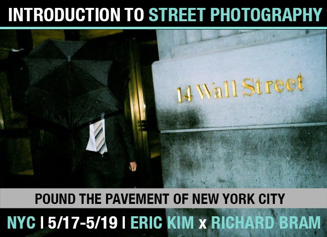 Pound the Pavement in New York City: Registration Open for Introduction to Street Photography Workshop May 17-19th (Featuring Richard Bram from In-Public)