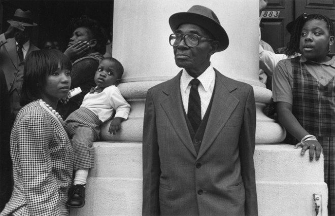 Harlem, 1991. © Harvey Stein