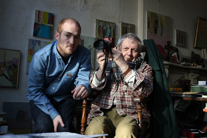 INGH7 - Saul Leiter and Director Tomas Leach