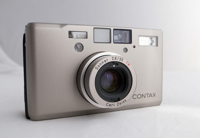 Contax T3, my primary film compact. Photo via Japan Camera Hunter