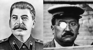 The man reminds me of Stalin