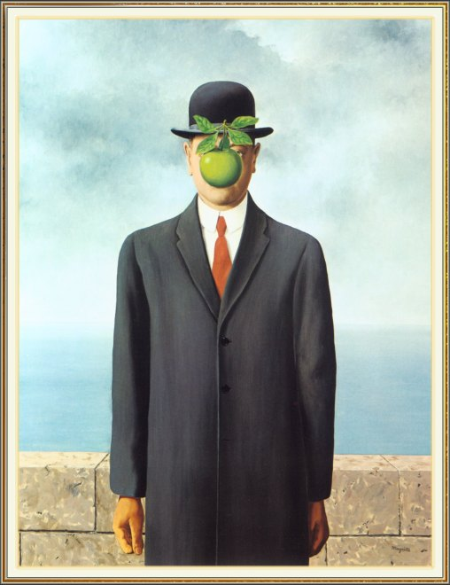 """Son of Man"" by Rene Magritte"