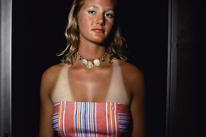 Joel Sternfeld. Nags Head, North Carolina, (#1), June-August 1975