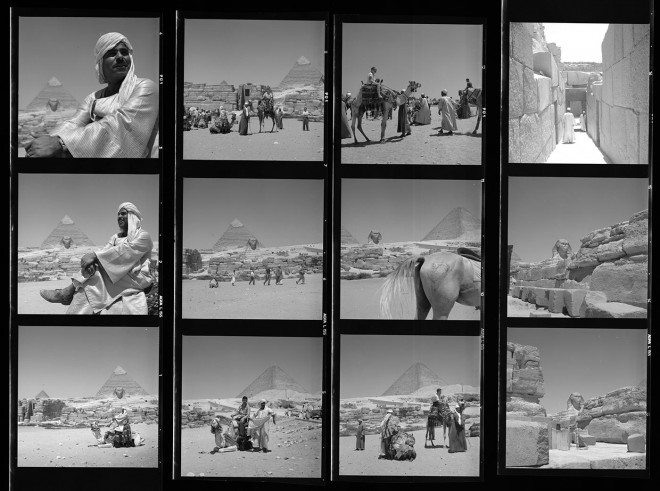Vivian Maier Contact Sheet / Egypt, 1959