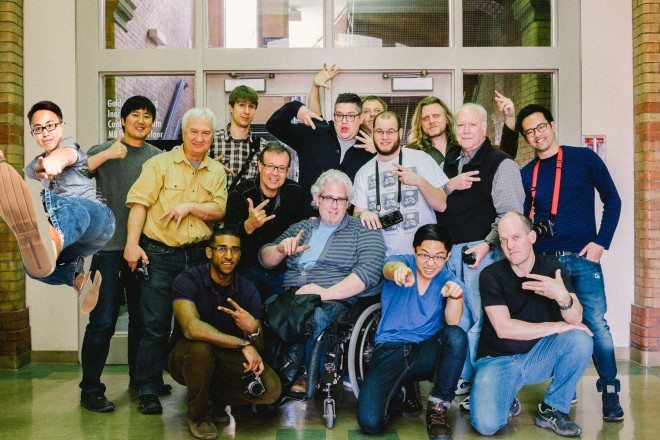 Toronto Introduction to Street Photography Workshop Group Photo 2014