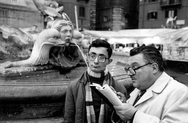 1980. Rome. Piazza della Rotonda