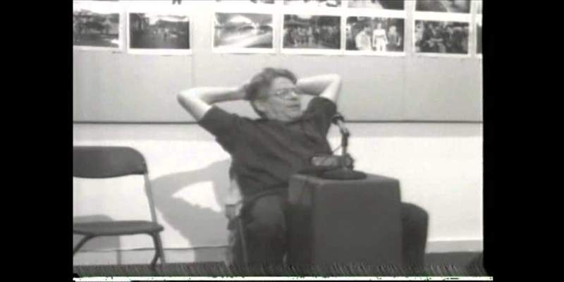 Rare Interview with Garry Winogrand at Rice University, 1977