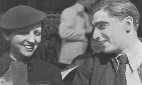 Portrait of Gerda Taro and Robert Capa