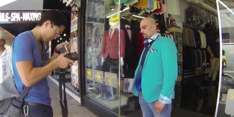 Shooting a Hasselblad Street Portrait in Downtown LA