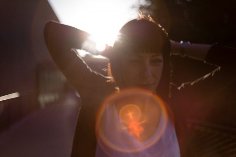 Lens Flare Lady