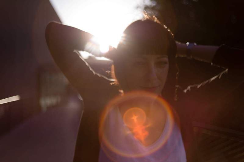 Lens Flare Lady