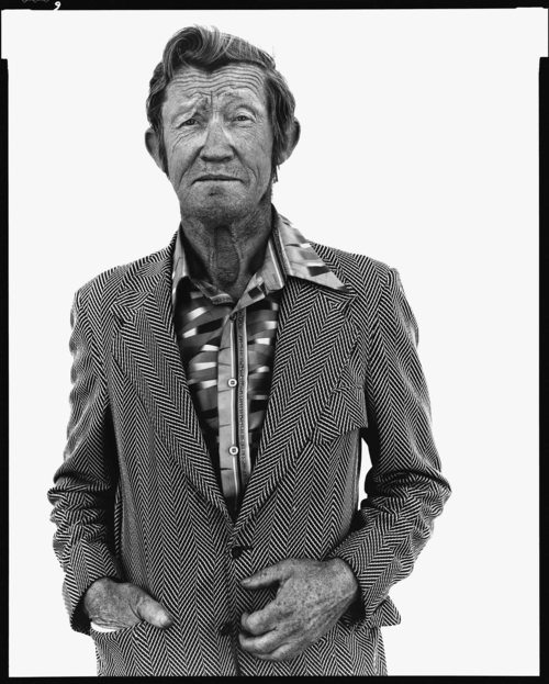 Carl Hoefert, unemployed blackjack dealer, Reno, Nevada, August 30, 1983.