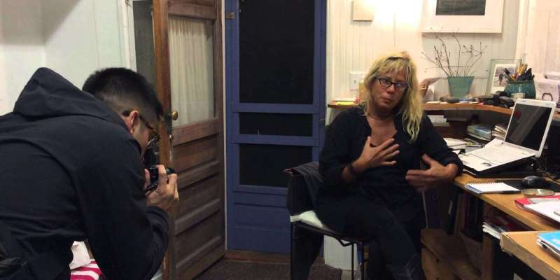 Eric Kim Show #2: Portrait session with Heather Bruce, Painter in Provincetown