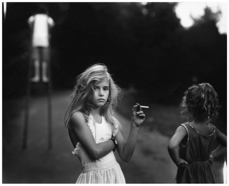 Candy Cigarette, 1969 by Sally Mann