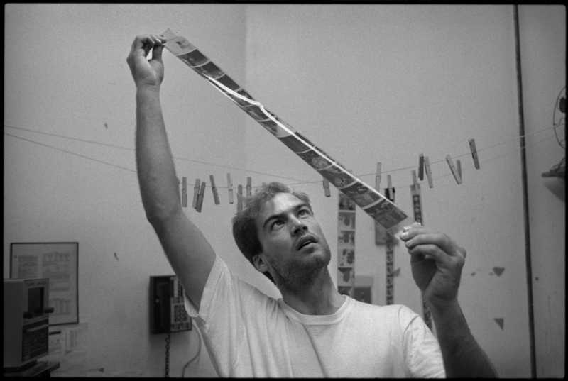 Dan Winters, September 1989, New York City