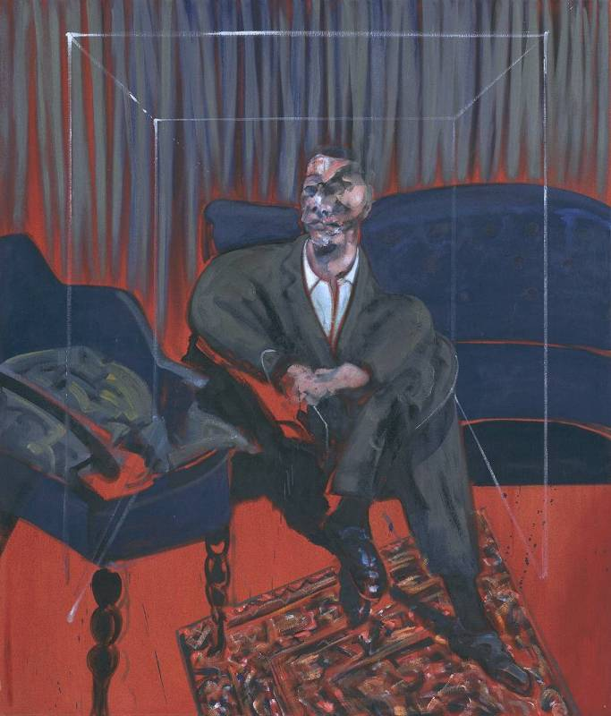Francis Bacon - Seated Figure (1961)