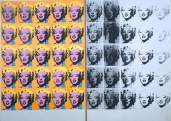 Andy Warhol, Marilyn Diptych, 1962, © The Andy Warhol