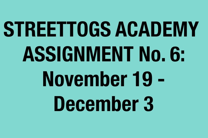 assignment 6 announcement