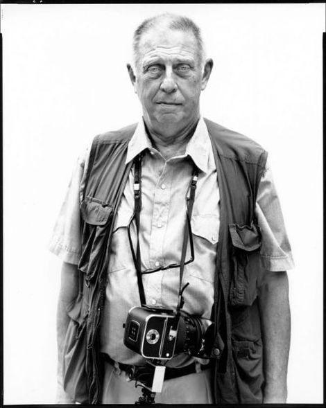Portrait of Lee Friedlander by Richard Avedon