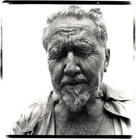 Ezra Pound by Richard Avedon