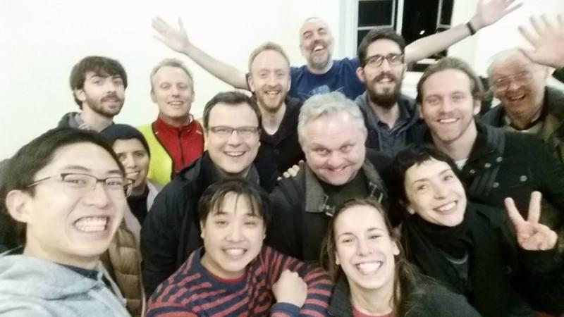 Group selfie from my recent London Intermediate/Advanced Street Photography Workshop