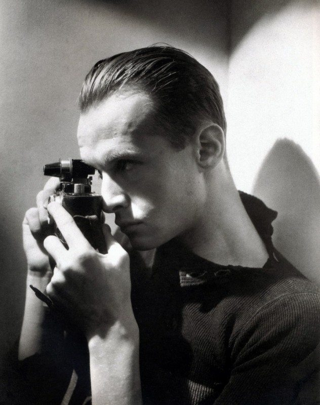 Portrait of Cartier-Bresson as a younger man.