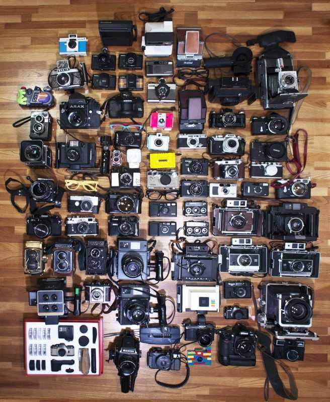 When would you seriously have enough time to shoot with all these cameras?