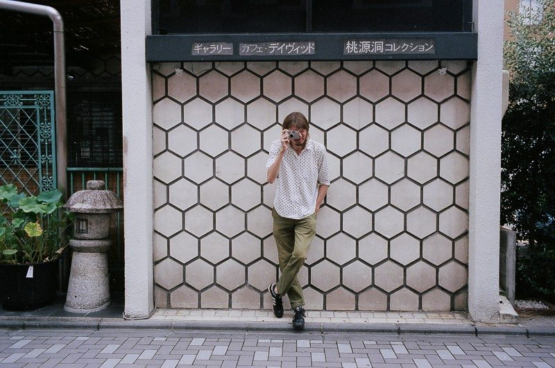 Portrait of Sean Lotman. Kyoto, 2014