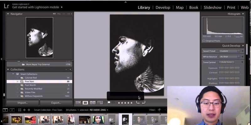 Video: Introduction to Editing, Processing, and Workflow in Lightroom