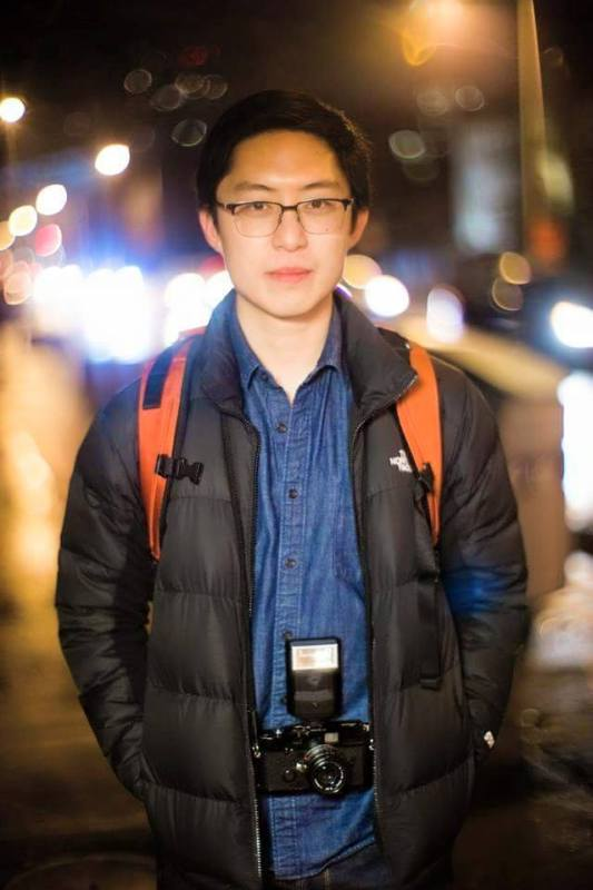 Epic bokeh photo of me by my buddy Tyler Hayward n Toronto.