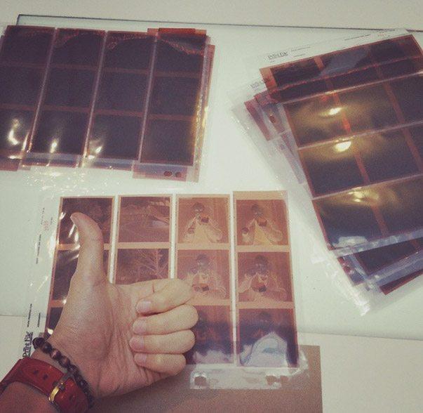 Some medium-format film