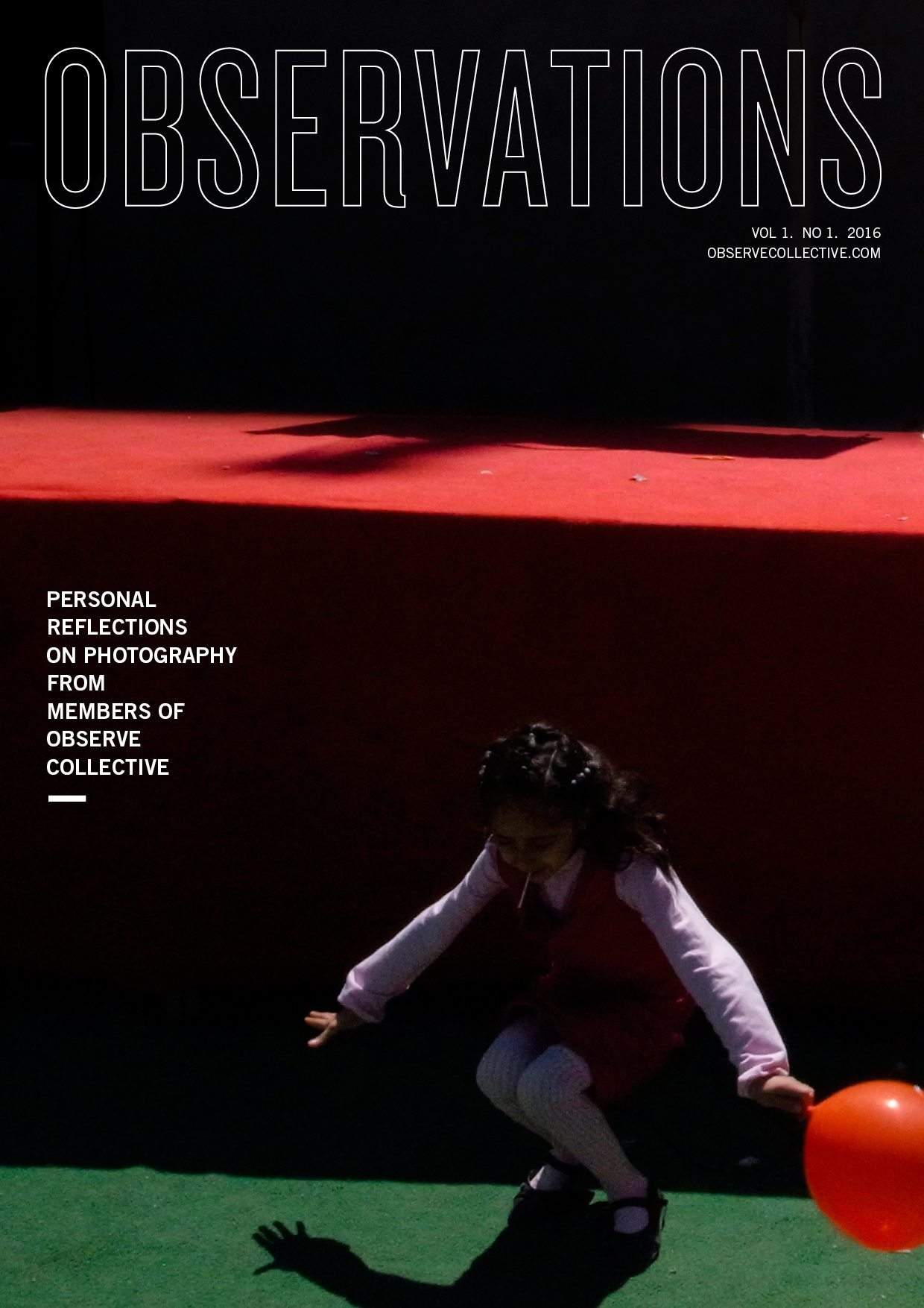 Observations Vol. 1 No. 1 by the Observe Collective Out Now