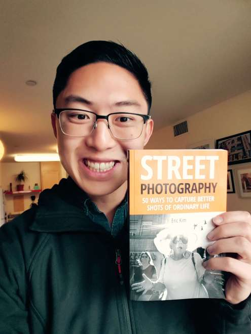Selfie with my first printed book!