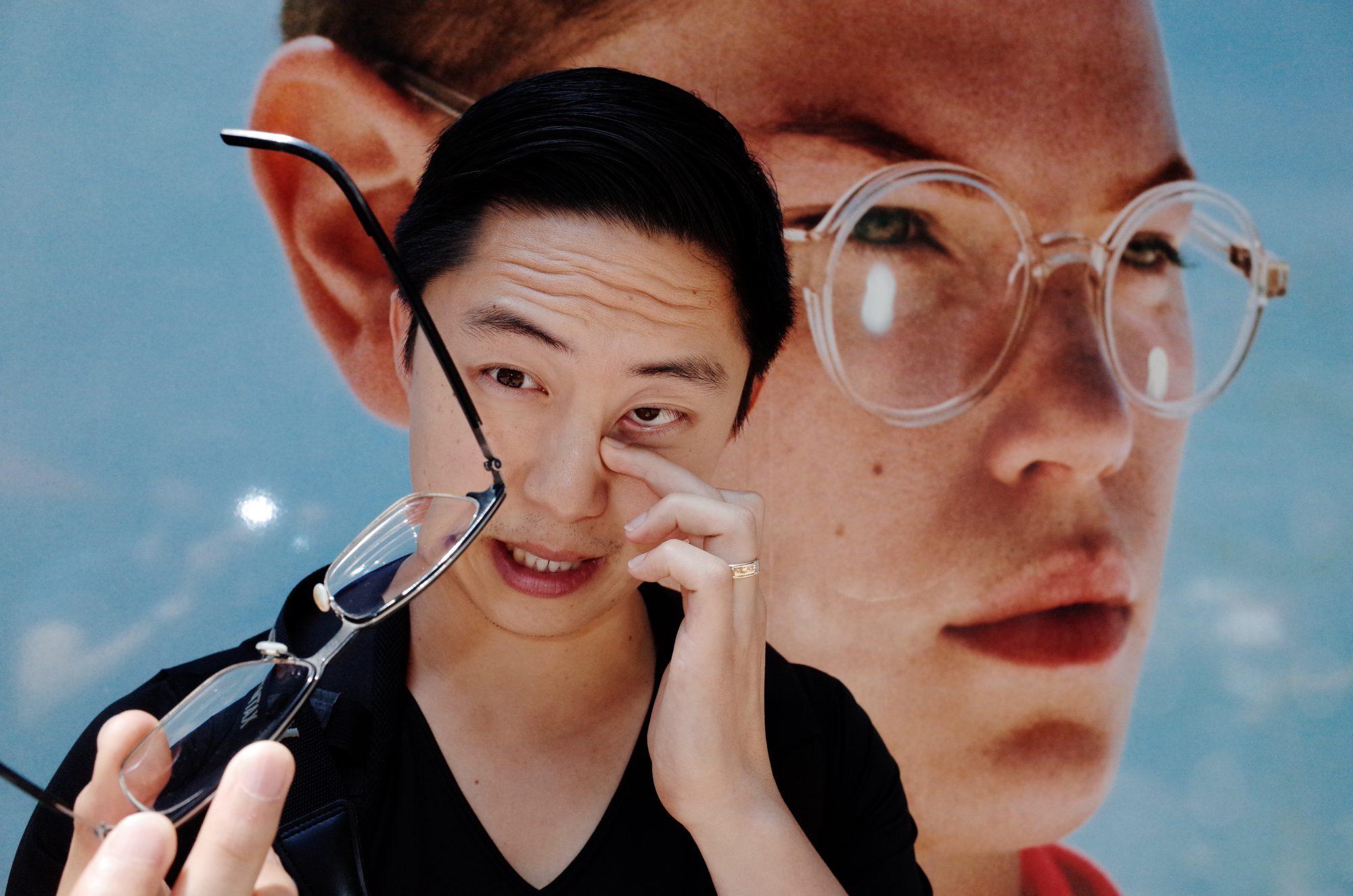 Portrait of Eric Kim by Michael Steindorfer