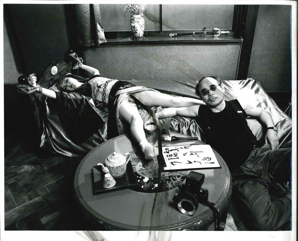 MARVELLOUS TALES OF BLACK INK, 1994. Photo by Araki