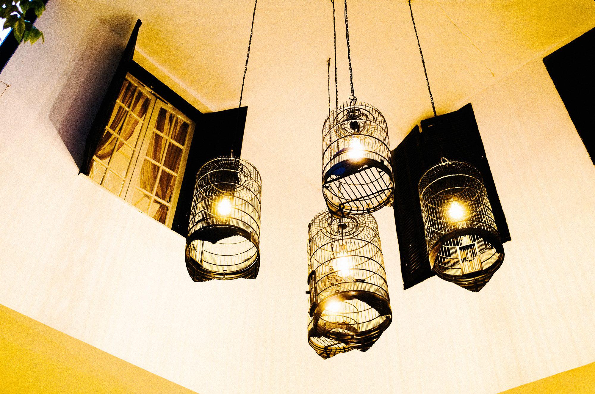 Fancy decor at La Badiane in Hanoi