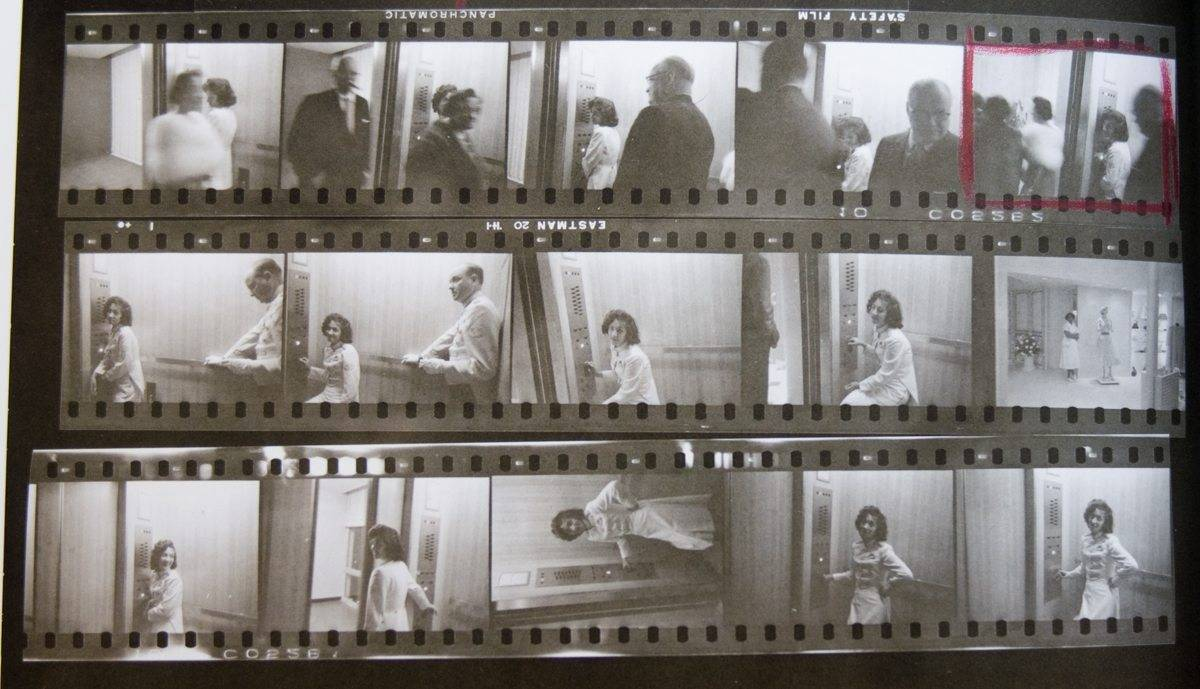 robert-frank-elevator-girl-contact-sheet