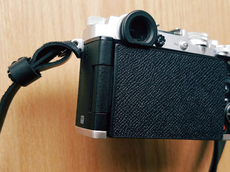 The Olympus Pen-F LCD turned backwards - ultimate shooting Zen