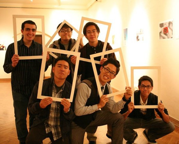 Photography Club at UCLA Group Photo (Final Exhibition, 2010)