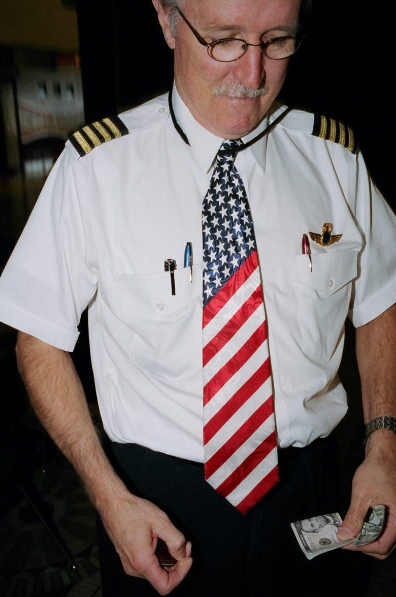 Americans-13 eric kim america tie pilot dollar bill