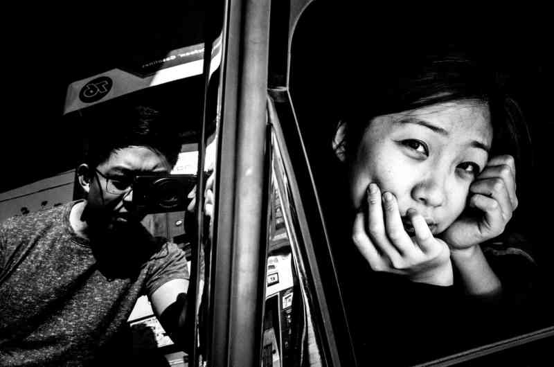 cindy project eric kim black and white