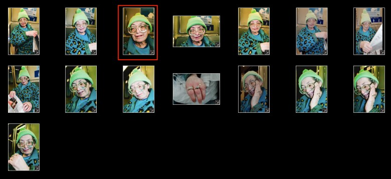 eric kim photography bart lady glasses contact sheet