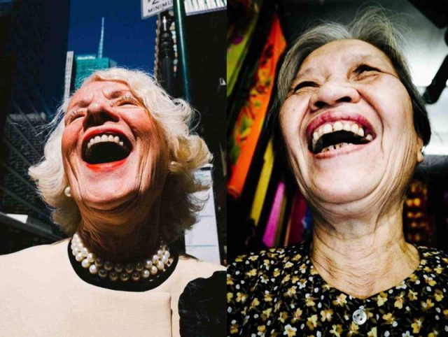 laughing ladies