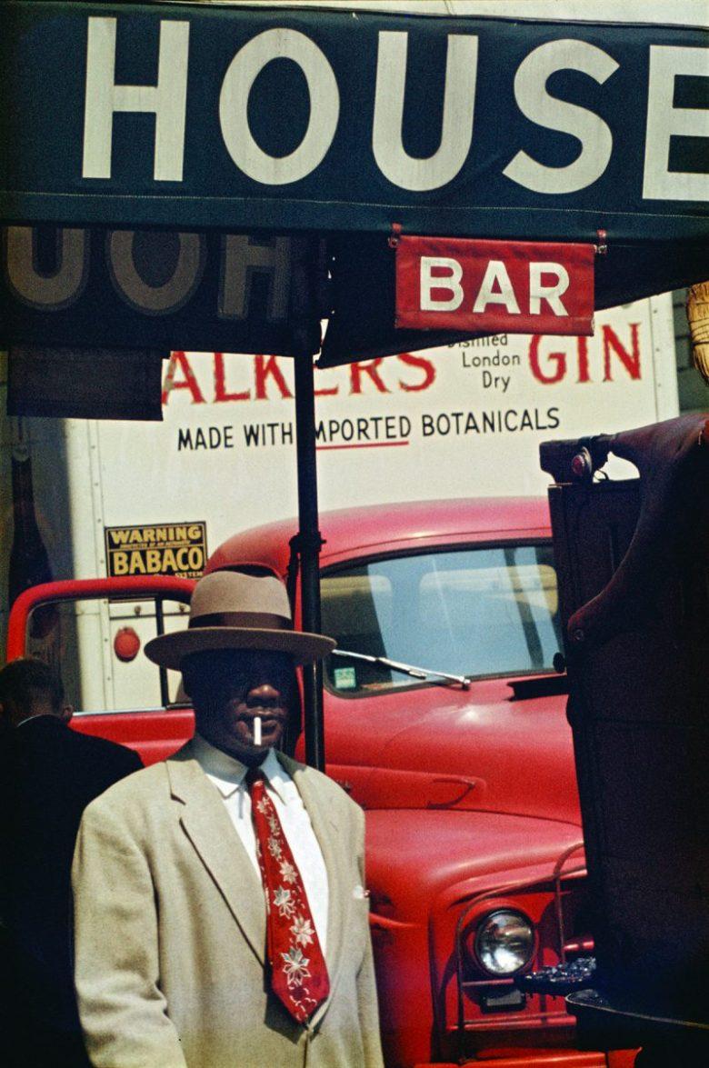 Saul Leiter photo.