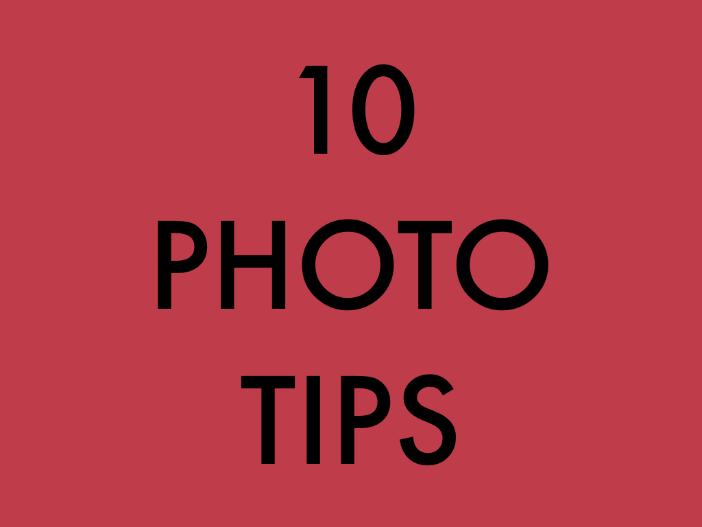 10 Photography Tips ERic Kim.001